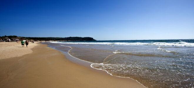 Пляж Кандолим в северном Гоа