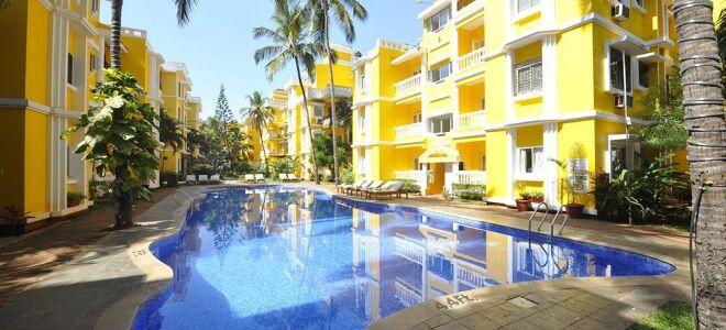 Рейтинг 3* отелей в южном и северном Гоа
