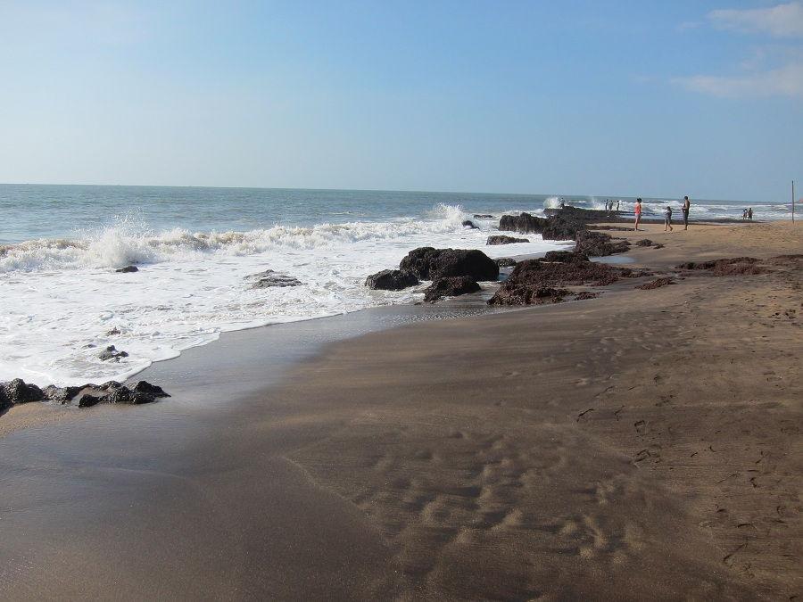 Пляж в Баге