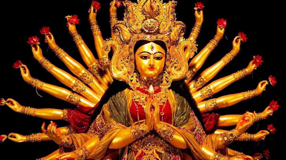 Фестиваль богине Дурге
